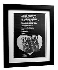 HEART+Little Queen+POSTER+AD+RARE ORIGINAL 1977+QUALITY FRAMED+FAST GLOBAL SHIP