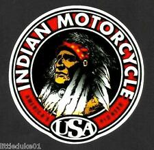 INDIAN MOTORCYCLES WORKSHOP GAS GARAGE SERVICE STATION STICKER DECAL NEW CHOPPER