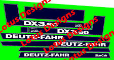 deutz fahr DX3.60 stickers / decals