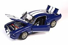 FORD SHELBY GT-500 MUSTANG BLUE 1:18 GREENLIGHT 12953 NEW LAST STOCK