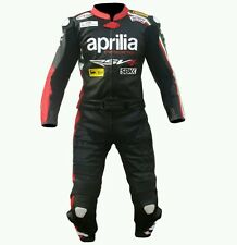 APRILLIA  MotoGp MOTORBIKE/MOTORCYCLE SUIT - CE APPROVED FULL PROTECTION