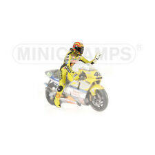 Minichamps 1/12 Valentino Rossi Figure Figurine 2001 Riding Figure GP500 motogp