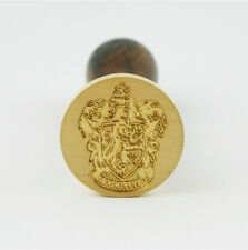 New Personalized Harry Potter Gryffindor Badge Wax Brass Seal Stamp Freeshipping