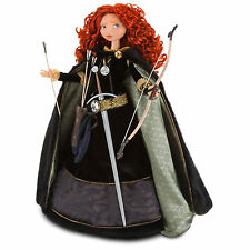 Disney Store Limited Edition Doll Brave Merida Mint condition NEW !! beautiful