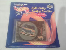 HOT WHEELS RACING KYLE PETTY TRADING CARD SET TOYS R US EXCLUSIVE 1997
