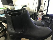 NEW Cole Haan Landsman Bootie Black Women's 7.5b  leather Ankle Boots W06488