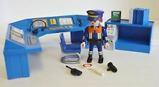 Playmobil Police Station Desk & Figure