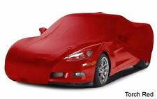 2010 - 2013 Corvette Torch Red Color Match Car Cover. Indoor Use Only!