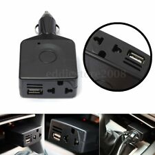 Car Power Inverter DC 12-24V to AC 220V Adapter USB Charger Converter