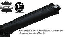 BLACK STITCH E BRAKE HANDLE LEATHER COVER FITS CHRYSLER CROSSFIRE 2003-2007