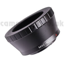 M42 Screw Thread 42mm lens to Nikon-1 AW1 S1 J3 J2 V2 mount adapter converter