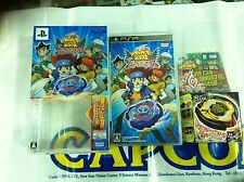PSP GAME BEYBLADE VULCAN HORUSEUS LIMITED (ORIGINAL USED)