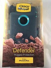 Otterbox Defender Series Case & Holster Belt Clip for Iphone 6 Plus Teal