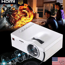 4000 Lumen HD 1080P Home Theater Projector HD LED/LCD Portable SD HDMI AV USB