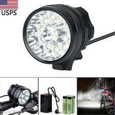 35000LM 12 x CREE XM-L T6 LED 6 x 18650 Bicycle Cycling Light Waterproof Lamp