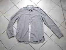 Chemise homme Sandro rayée 100 % coton taille XL