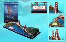 "Museum Quality Architectural Model Golden Gate Bridge 18"" long San Francisco"