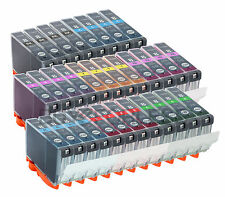 INK FOR CANON CLI8 CLI-8 PRINTER PRO-9000 PRO-9000 MARK II 32PK COMBO
