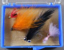 Trout Fishing Lure, Wet / Dry Flies Box Of 4, Pack Fly Hooks,  Lot # 13 As Photo