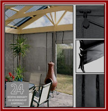 NEW! 120 x 240 Ash Mesh Shade Screen Filter Blind Backyard Outdoor Verandah