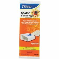 (3 PACKS-4TRAPS PER PACK=12 TRAPS) Terro Insect And Spider Trap BROWN RECLUSE