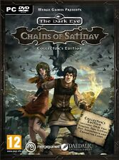 The Dark Eye - Chains of Satinav - Collectors Edition (PC DVD) NEW & Sealed