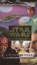 Star Wars CCG -  Tatooine Booster Single Pack Factory Sealed x5
