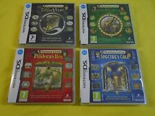 ds PROFESSOR LAYTON x4 Curious Village Pandora's Box Lost Future Specter's Call