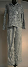 Aria Women's 2pc Fleece Pajama Set-LEOPARD-MEDIUM-NWT