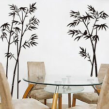 Bamboo Plant Wall Mural Home Art Decals Vinyl Stickers Removable DIY Room Decor