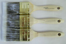"Lot of 3 Wooster PRO CLASSIC FLAT Nylon Polyester Straight Paint Brushes, 2"" Ea."