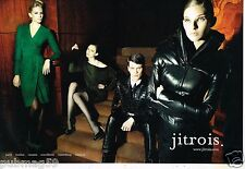 Publicité Advertising 2011 (2 pages) Haute Couture Jitrois