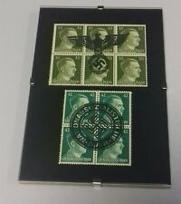 Clip Framed Adolf Hitler Eagle/DAP Cancellation stamps (0001).