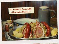 recette  de la véritable choucroute alsacienne