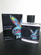 Playboy New York by PLAY BOY for Men 3.4 OZ /100 ML EDT  Spray NEW IN BOX