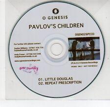 (EG720) Pavlov's Children, Little Douglas - DJ CD