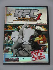 ROYCE GRACIE Hand Signed UFC #1 Dvd + Photo Proof