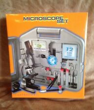 Claybrooke Microscope Set (100x - 900x) + Storage Case. New In Box