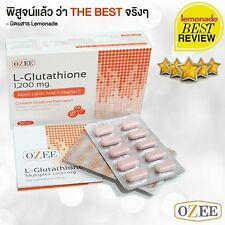 OZEE GLUTA MIX Whitening Skin Anti-Acne Glutathione 1,200 mg 30 Tablets 1 Box