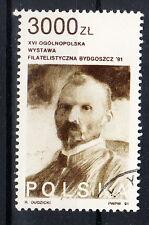 Polen Briefmarken 1991 Briefmarkenausstellung Bromberg Mi.Nr.3341