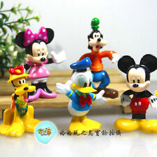 6 PCS MICKEY&MINNIE DONALD DUCK DISPLAY FIGURES KID TOY CAKE TOPPER DECOR