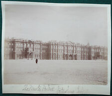 Winter Palace St Petersburg Imperial Russia Tsar Nicholas Antique Albumen Photo
