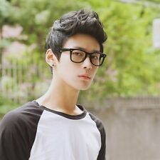 Mens Male Wig Handsome Vogue Sexy Korean Boys Short Hair Wigs Cosplay Full Wigs