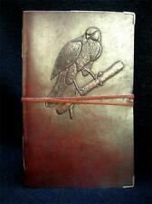 A5 BIRDWATCHER'S Handmade leather Journal - Cooper's Hawk