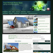Power Solar Panel Green Business Website For Sale! Best Way Earn Money At Home!