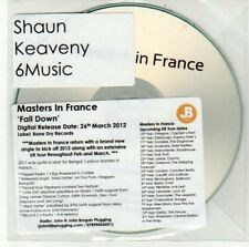 (DD502) Masters In France, Fall Down - 2012 DJ CD