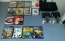 playstation 2 PS2 fat + 4 Manettes + 14 Jeux