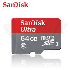 Sandisk 64GB Ultra Micro SD (SDHC) Card 80MB/s UHS-I Class 10 with Adapter