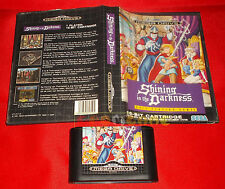 SHINING IN THE DARKNESS Sega Mega Drive Versione Europea PAL SENZA MANUALE - DH