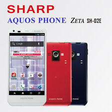 20% OFF!!! SHARP AQUOS PHONE ZETA SH-02E RED 16.3 million pixels IGZO 1280x720
